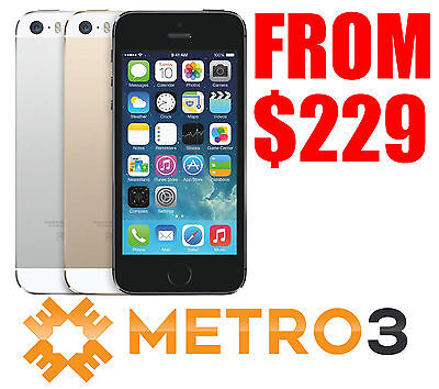 Apple iPhone 5s 32GB Mobile Phone Unlocked | REFURBISHED | Melbourne Stock