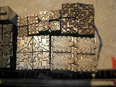 Letterpress Printers Block,HUGE Lot; Item # 158/ HUGE SALE