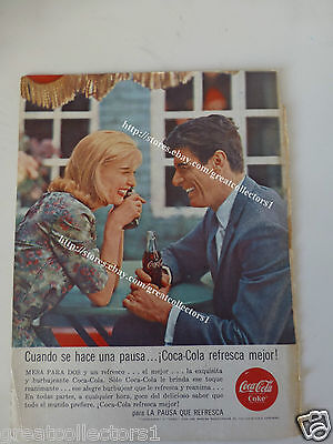COCA COLA OLD AD ADVERTISING FromARGENTINA  #24