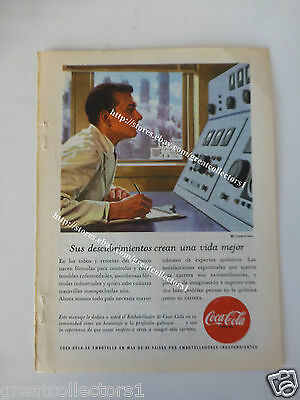 COCA COLA OLD AD ADVERTISING FromARGENTINA  #26
