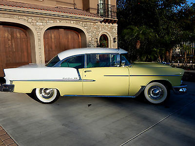 1955 Chevrolet Bel Air/150/210 Sport Coupe - 2 Door No Post Hardtop 1955 Bel Air V8 Power Pack Sport Coupe Restored 2 Door No Post Hardtop
