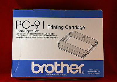 Brother PC-91 Printing Cartridge for Plain Paper Fax