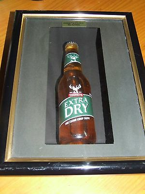 Tooheys Extra Dry, Collectible, Wall hanging, Picture, Man Cave, Bar Item, Frame