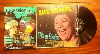 Ella Fitzgerald--lot of LP and songbook--what a deal!