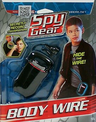 Spy Gear Body Wire .!!!!!brand New In Package !!kids Latest Craze !!!