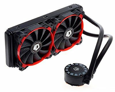 id-cooling frostflow Refrigeratore PC Rosso
