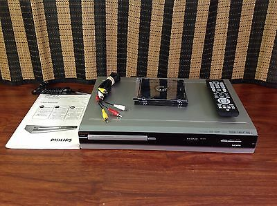 Philips DVD / CD Player DVD Recorder With Remote, Manual & DVDs.