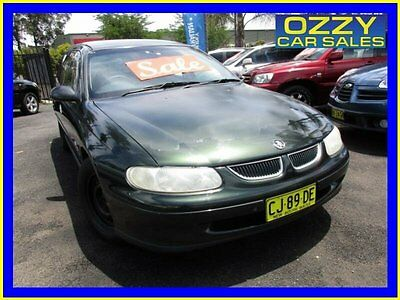1999 Holden Commodore Vtii Executive Green Automatic 4sp Automatic Wagon