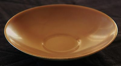 Poole Pottery Saucer for Tea Cup, Twintone Sepia, Good Condition