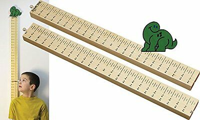 Growth Stick with Dino Topper - Made in USA