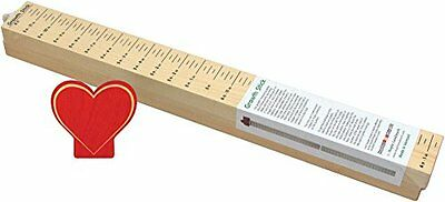 Growth Stick with Heart Topper - Made in USA