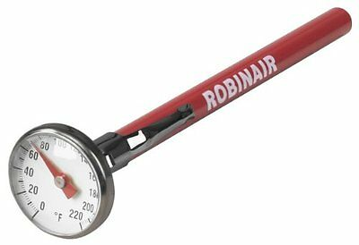 Robinair (10597) Dial Thermometer, 0° to +220°F