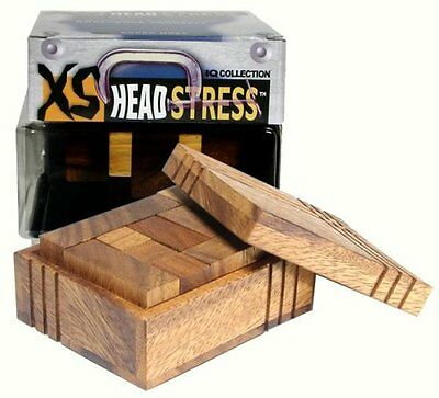 Family Games XS Head Stress Series Casket IQ Collection Puzz