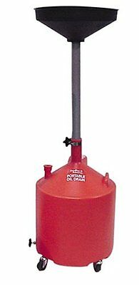 Crew Chief JDI-18DCP 18 gallon Economy Portable Poly Oil Dra
