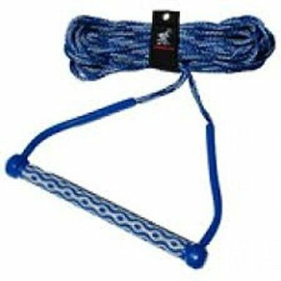 "AIRHEAD AHWR-3 Wakeboard Rope, 3 Section with 15"" EVA Handle"