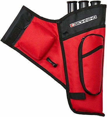 Bohning Mini Right Hand Target Quiver, Red