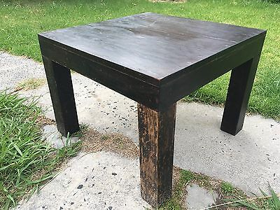 Antique Chinese Rosewood Table 60X60X46 cm