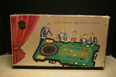 Rare 'caesars Exclusively' Electronic Roulette Table Game No. 02894 'pf Product'