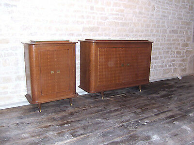 2 Buffets 2 Portes Ayant Equipe Le Paquebot France