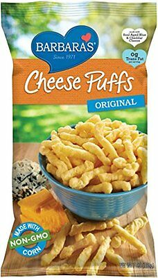 Barbara's Bakery Original Cheese Puffs  7-Ounce Bags (Pack of 12)