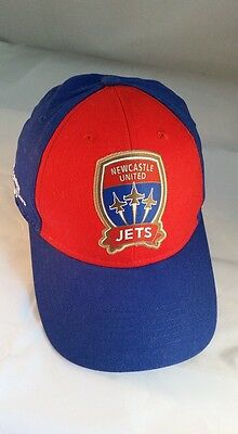 NEWCASTLE JETS 2013/14 Adult Members Cap Hat A-League Football Soccer