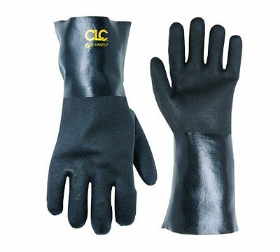 Custom Leathercraft 2082L PVC Gloves with 12-Inch Gauntlet Cuff, Large