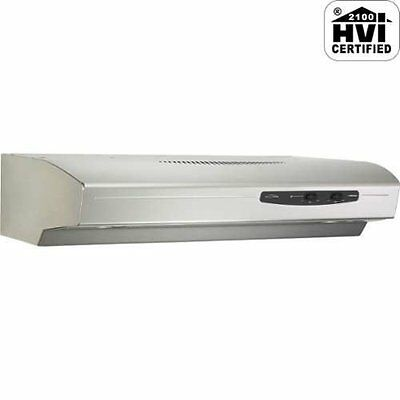 Broan QS136SS Allure Range Hood, 36-Inch, Stainless steel