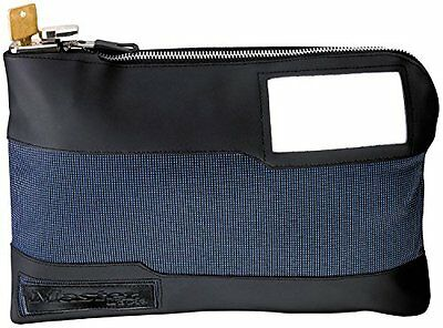Master Lock 7120D Locking Security Bag, Blue, 10-inch x 8-5/8-inch x 1-7/8-