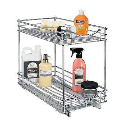 Lynk Professional Roll Out Double Shelf - Pull Out Two Tier