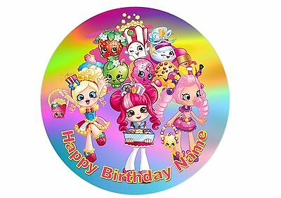 Shopkins Edible Printed Cake Topper 20cm Rice / Wafer Paper  #7