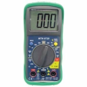 Mountain 8720 Digital Multi-Meter