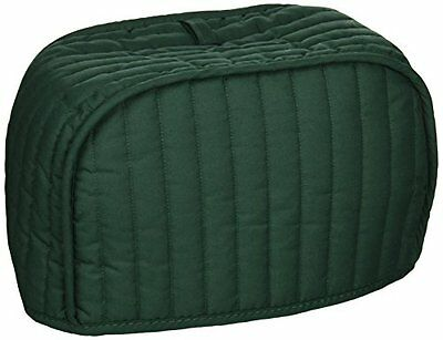 Ritz Quilted Four Slice Toaster Cover, Dark Green