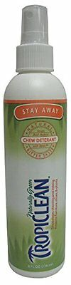 Tropiclean Stay Away Pet Chew Deterrent Spray, 8 Ounce