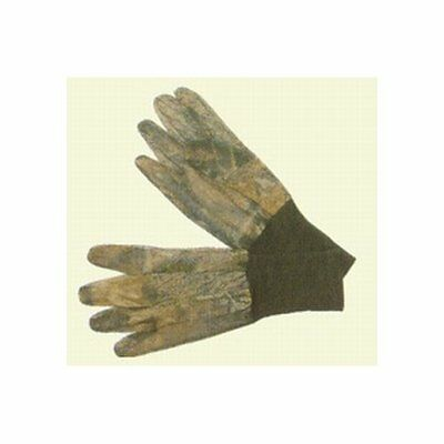 Allen Company Mesh Camo Gloves with Long Knit Cuffs