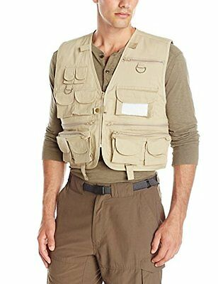 Crystal River C/R Fly Fishing Vest, Tan, X-Large
