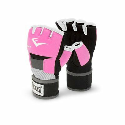 Everlast Pink Women's Evergel Hand Wraps (Large)