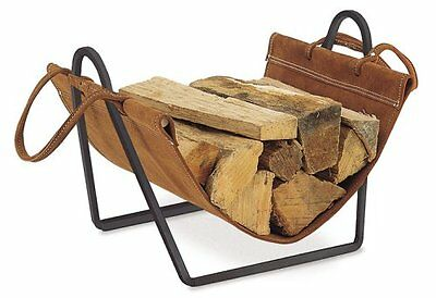 Pilgrim Home and Hearth 18516 Traditions Wood Holder with Su