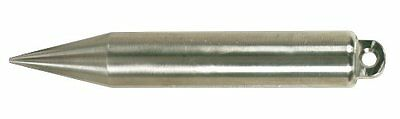 Lufkin S590 20-Ounce Stainless Steel Cylindrical Shape Plumb Bob