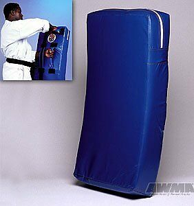 ProForce Curved Body Shield Blue