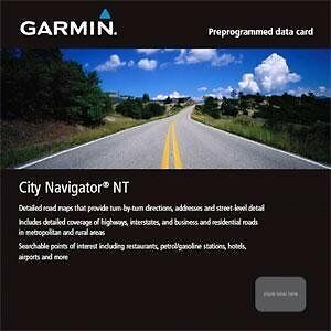 Garmin City Navigator for Detailed Maps of China (microSD/SD Card)