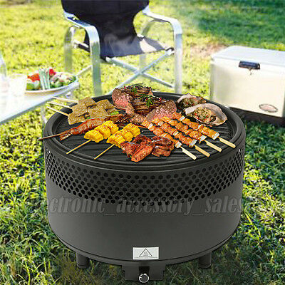 Portable BBQ Gas Grill Boat Caravan Outdoor Camping Cooker OZ