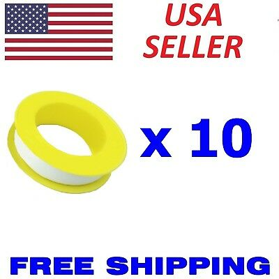 """10x Roll Teflon Plumbing Fitting Thread Seal Tape 1/2""""x 315"""" PTFE For Water Pipe"""