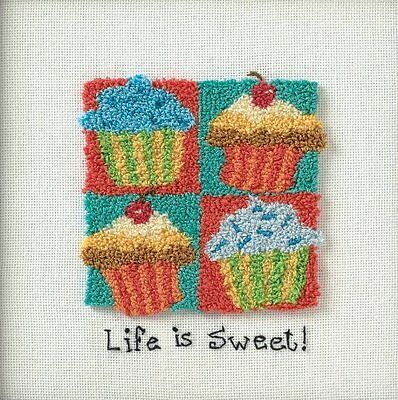 Dimensions Needlecrafts Punch Needle, Cupcakes