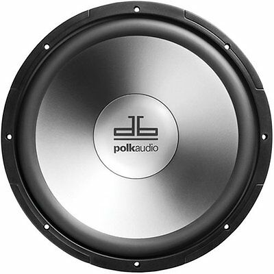 Polk Audio db1240DVC 12-Inch Dual Voice Coil Subwoofer (Single, Black)
