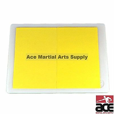 Rebreakable Board for Martial Arts Training - Yellow