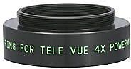 Tele Vue T-Ring Adapter for the 4x 2 Powermate.