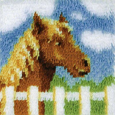 "Wonderart Latch-Hook Kit, Pony, 12"" X 12"""