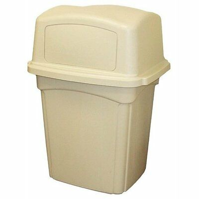 Continental 6452BE, Beige Colossus Receptacle with Two Doors