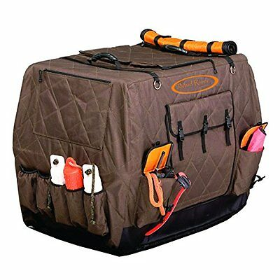 "Mud River Dixie Kennel Cover, Brown, Medium/32"" x 23"" x 25"""