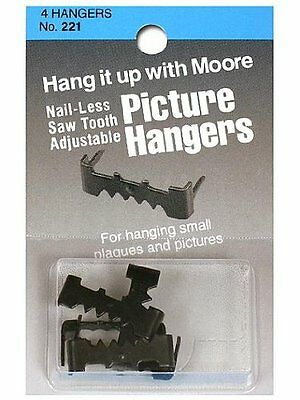 Moore Nail-less Adjustable Sawtooth Hangers 4